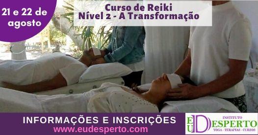 Curso de Reiki Nivel 2 - A Transformação
