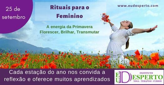 Rituais para o Feminino: Celebrando as estações